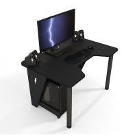 Геймерский игровой стол ZEUS™ IVAR-1200, черный/черный