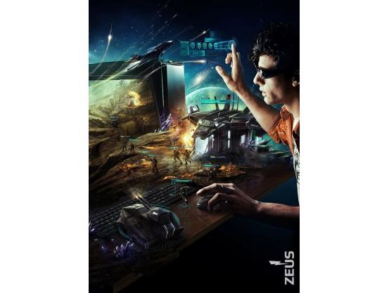 Фотообои для геймерской комнаты, Gamer, 184x254