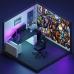 Фотообои для геймерской комнаты, Dota, 368x254