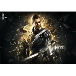 Фотообои для геймерской комнаты, Deus Ex, 368x254