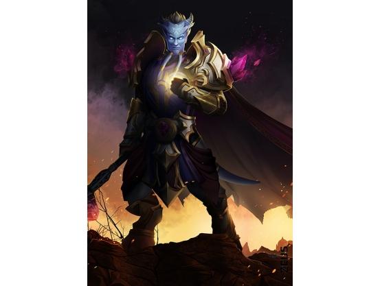 Фотообои для геймерской комнаты, Warcraft, 184x254