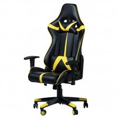 Геймерское кресло Zeus Drive-Omega, черно-желтый