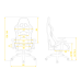 Кресло для геймеров HATOR Sport Air (HTC-921) Black/Red