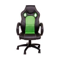 Геймерское кресло ZEUS™ Miscolc, черно-зеленый