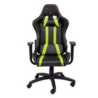 Геймерское кресло ZEUS™ Zebra, черно-зеленый