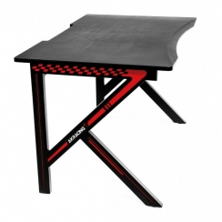 Стол геймерский Akracing black&red