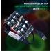 Игровой стол ZEUS™ IGROK-3L, черный/зеленый с LED подсветкой