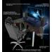 Игровой стол ZEUS™ IGROK-3L, черный/красный с LED подсветкой