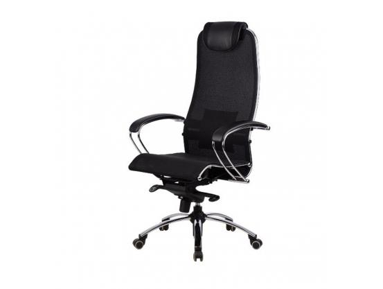 КРЕСЛО METTA SAMURAI S1 BLACK PLUS . Качественные кресла класа Люкс. Большой выбор в магазине Kiberbanda. Бесплатная доставка. Гарантия. .