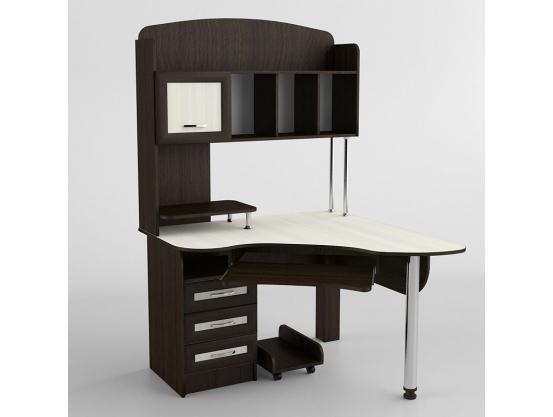 Компьютерный стол угловой Тиса СК-226 Венге магия- Дуб молочный