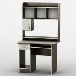 Компьютерный стол с надстройкой Тиса-13 Венге магия - Дуб молочный
