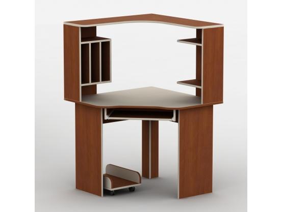 Компьютерный стол угловой Тиса-19 Яблоня локарно-Ваниль