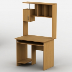 Компьютерный стол с надстройкой Тиса Омега-25 Ольха горная