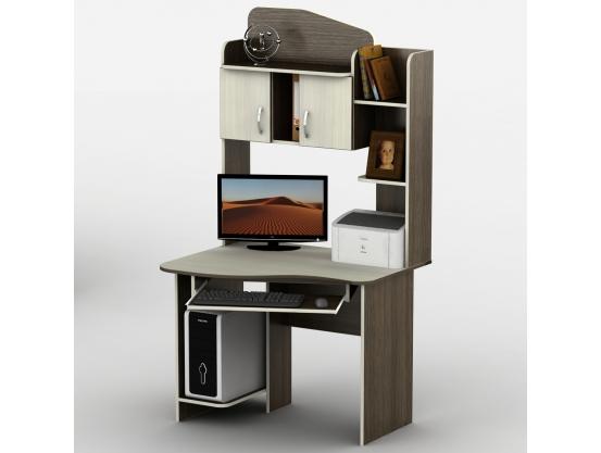 Компьютерный стол Тиса-28 Венге магия - Дуб молочный