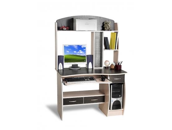 Компьютерный стол Тиса СК-9 Дуб молочный-Венге магия
