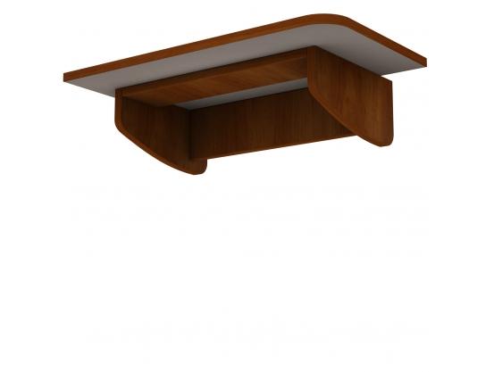 Навесной компьютерный стол Тиса СП-1 Орех лесной