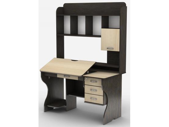 Компьютерный стол Тиса СУ-8 Венге магия - Дуб молочный