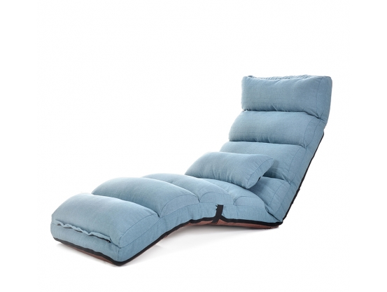 Кресло-трансформер Comfy-Home™ Лаунж, голубой