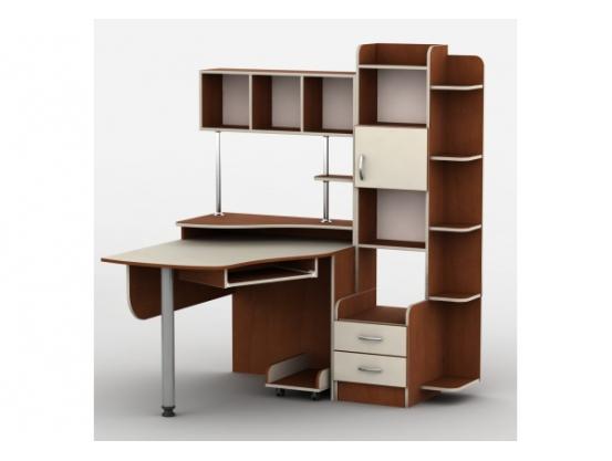 Компьютерный стол Тиса Т-3 Яблоня/Ваниль