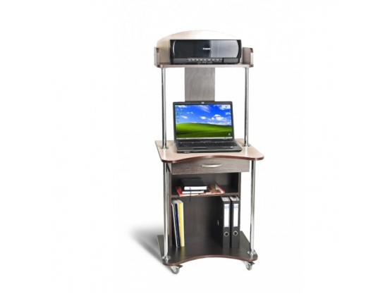 Компьютерный стол Тиса СК-3 Венге/Дуб молочный