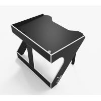 Геймерский эргономичный стол ZEUS™ GEROY-2, черный / белый