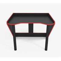 Геймерский эргономичный стол ZEUS™ GEROY-2, черный / красный