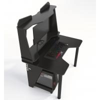 Геймерский игровой стол ZEUS™ IVAR-2 (1200мм), черный/черный