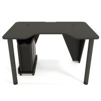 Геймерский игровой стол ZEUS™ IVAR-1400, черный/черный