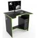 Стол геймерский ZEUS™ Sputnik, черный-лайм