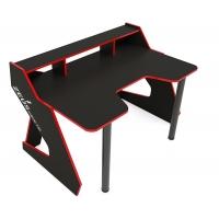 Геймерский игровой стол IGROK-TIM-2, черный / красный  ZEUS™